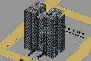 某大厦Revit模型