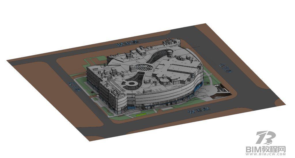 上海七宝万科广场Revit模型和BIM资料全套插图1