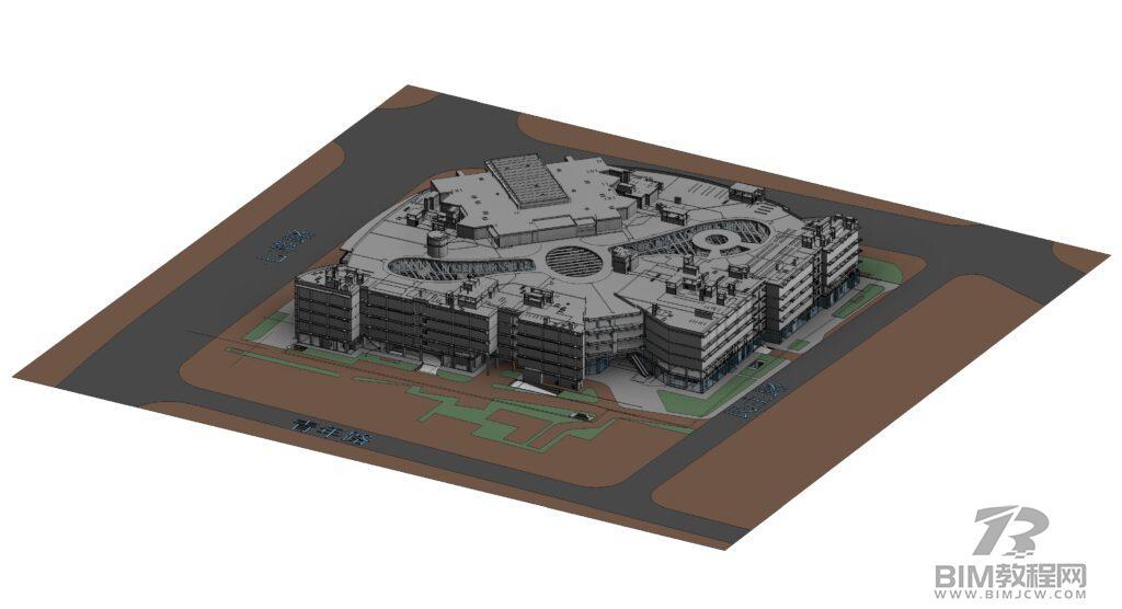 上海七宝万科广场Revit模型和BIM资料全套插图