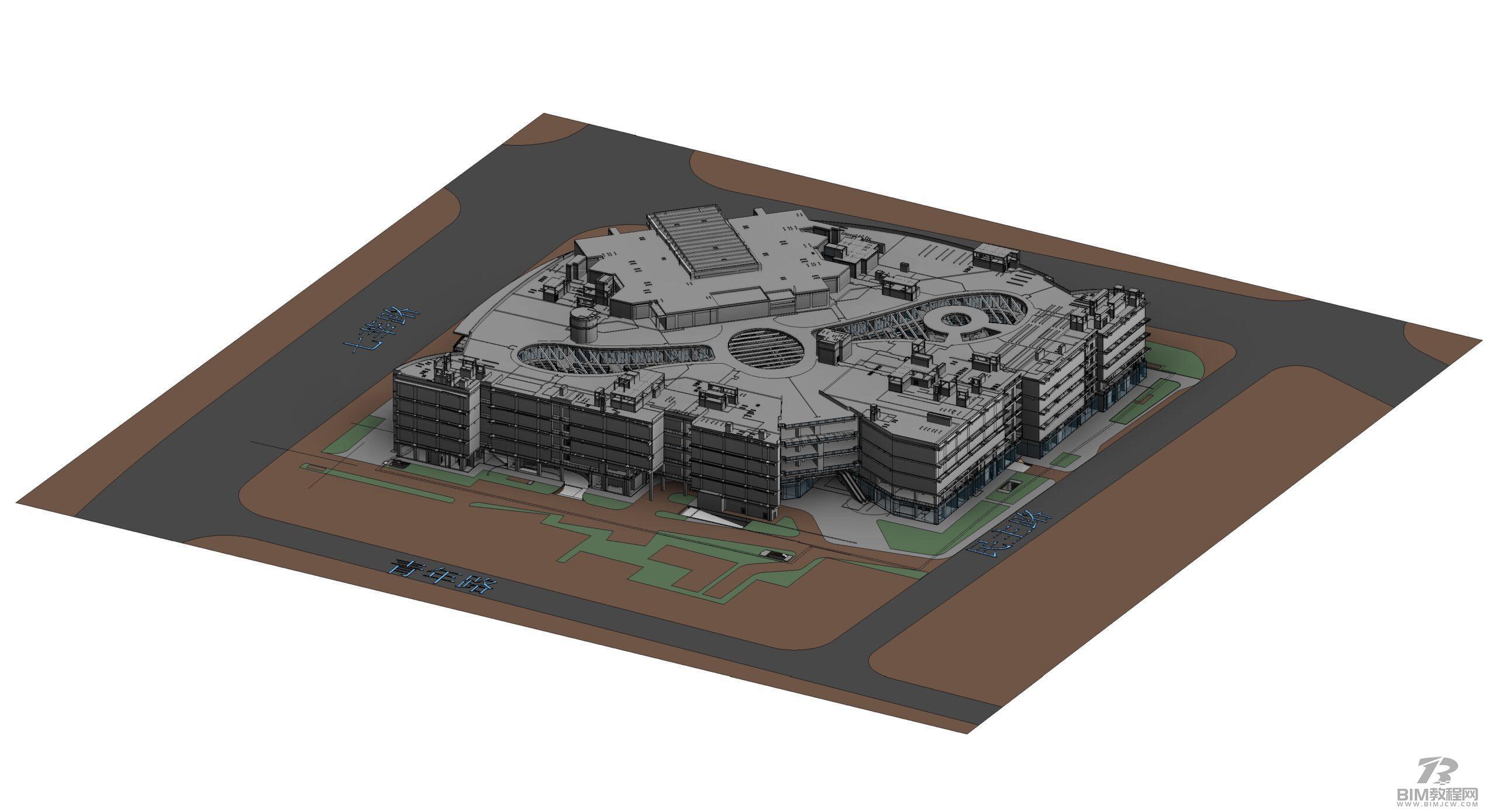 上海七宝万科广场Revit模型和BIM资料全套缩略图