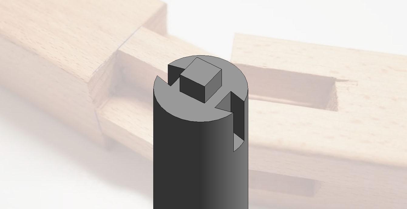 Revit绘制带榫卯的建筑柱缩略图