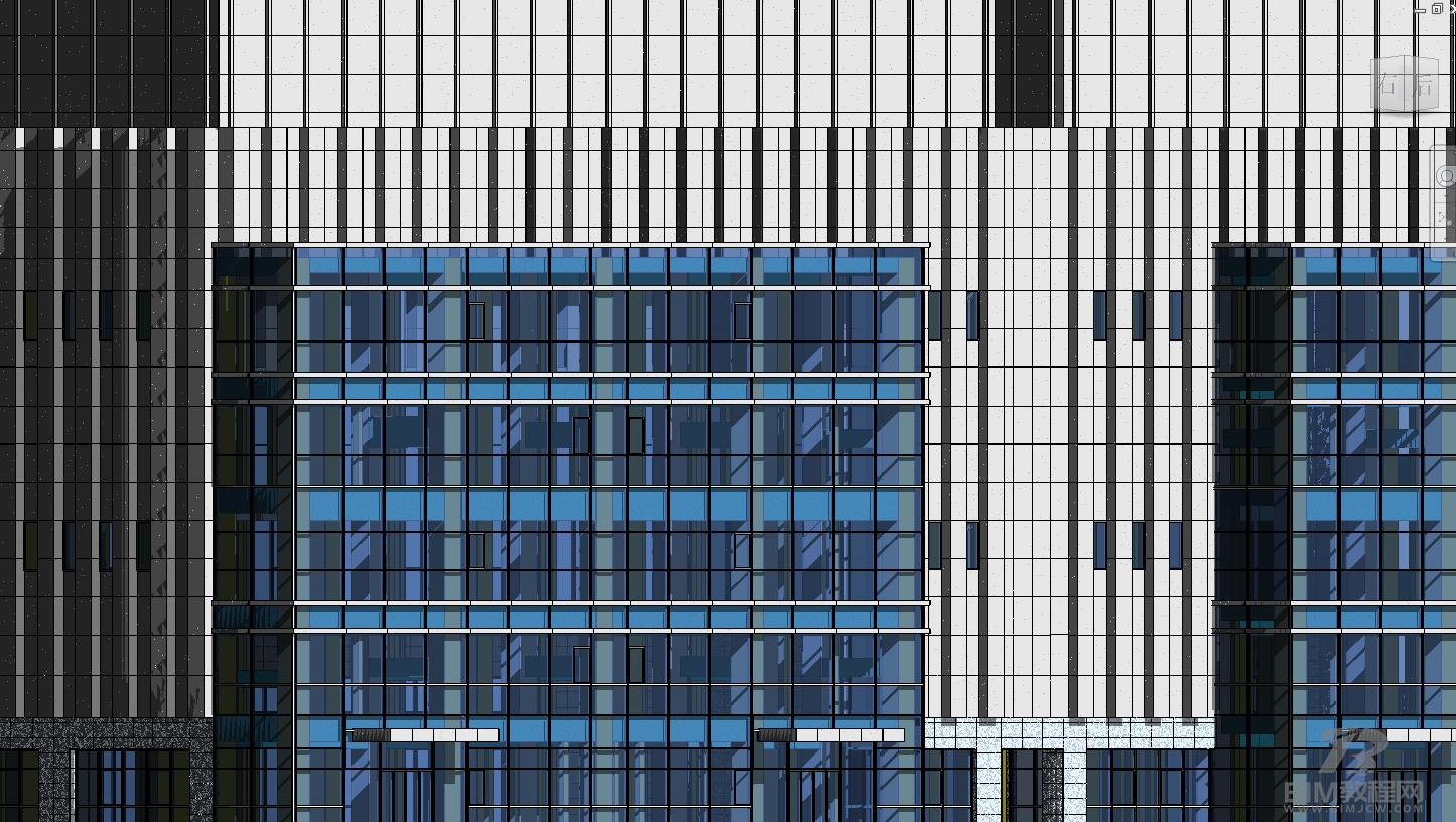 Revit幕墙建模的要点及可行性