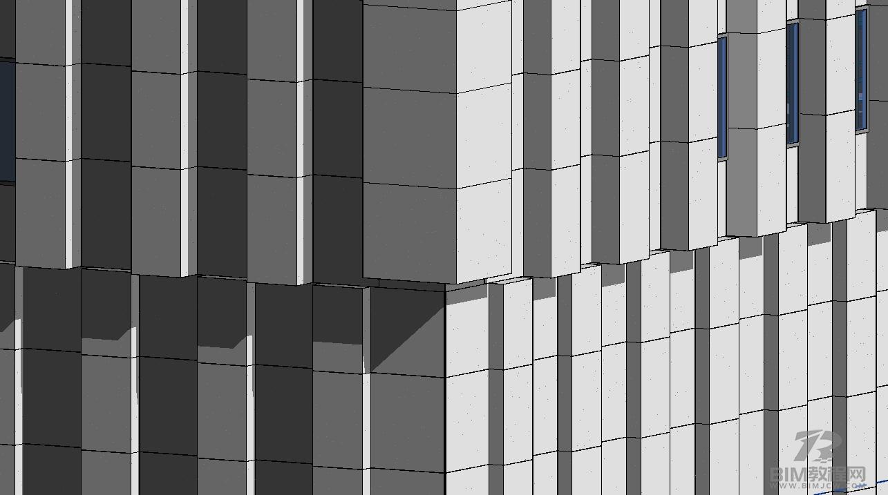 Revit幕墙建模的要点及可行性3