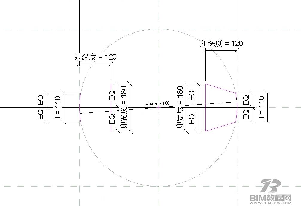 Revit绘制带榫卯的建筑柱5