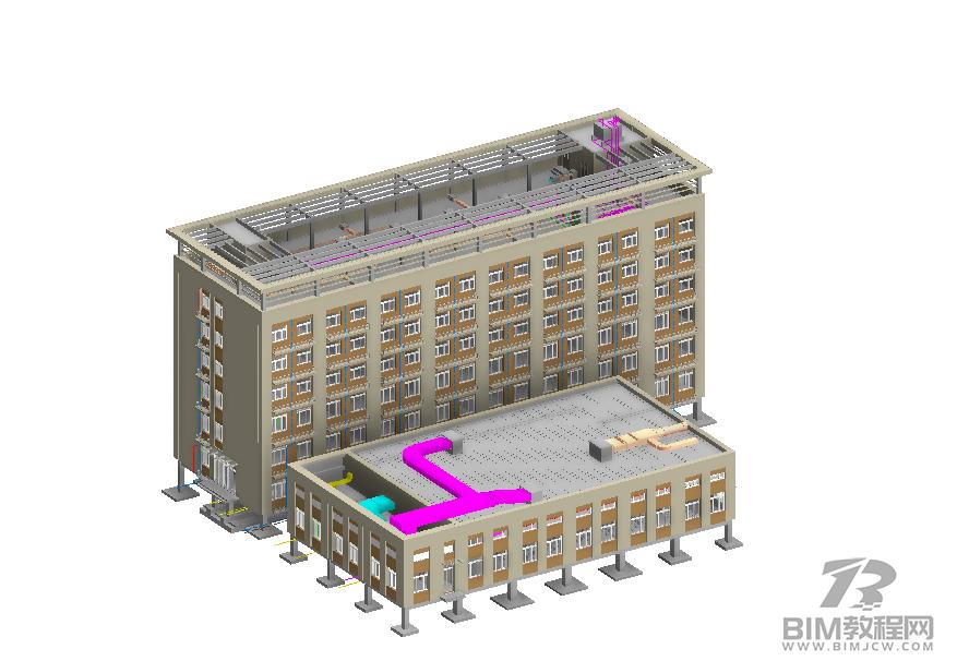 医院全套Revit模型下载6
