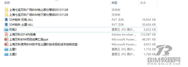 上海七宝万科广场Revit模型和BIM资料全套3