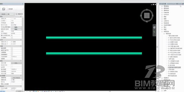 Revit画完的管道修改系统分类的方法插图1