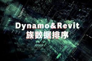 dynamo对Revit族进行数据排序