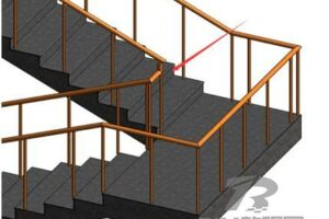 Revit制作楼梯扶手转角族